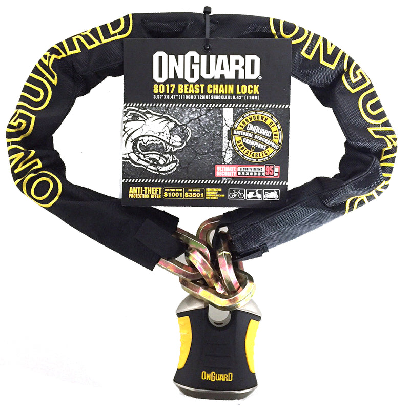 Onguard Beast 8017 Bike D Lock