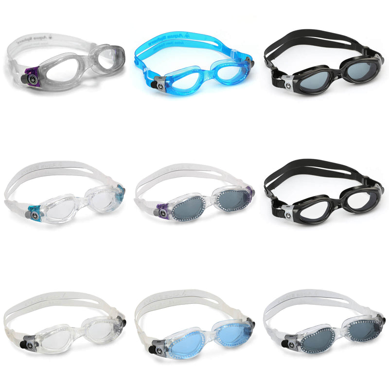 Aqua Sphere Kaiman Small Men's Swimming Goggles Collection