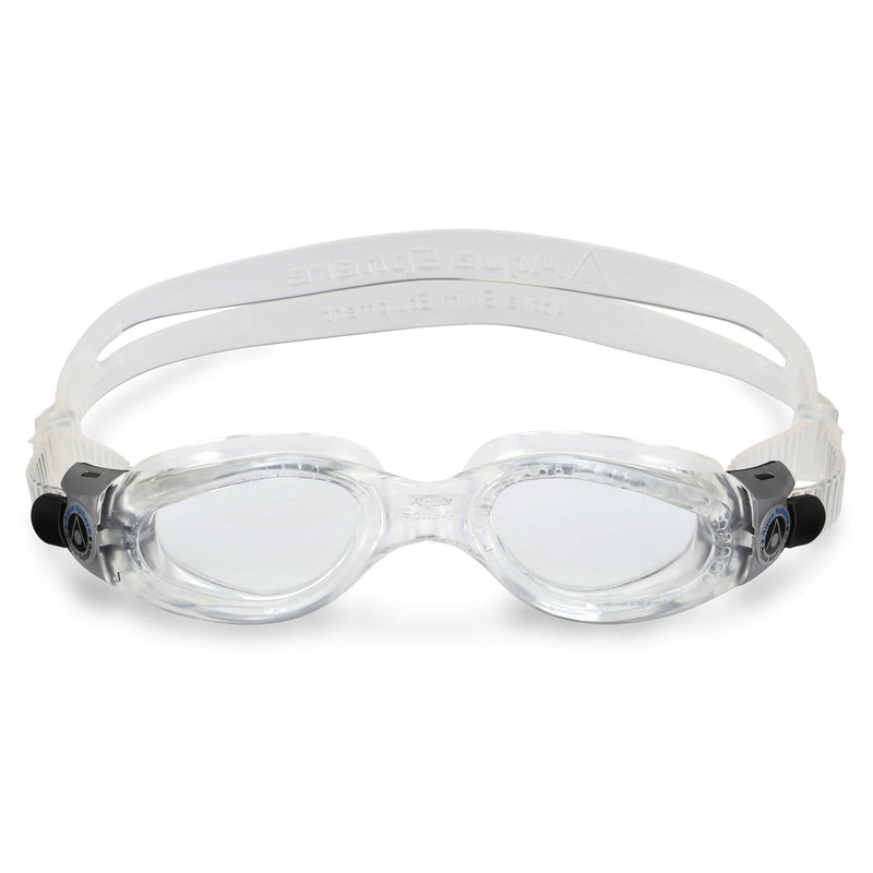 Aqua Sphere Kaiman Small Men's Swimming Goggles Transparent Clear Alternate 1