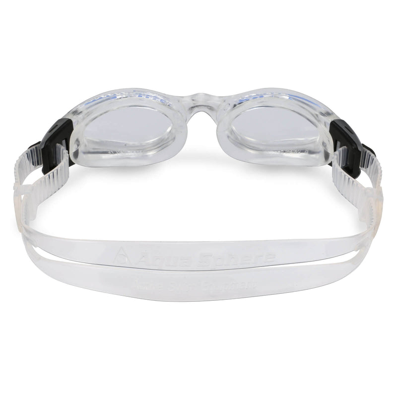 Aqua Sphere Kaiman Small Men's Swimming Goggles Transparent Clear Alternate 3