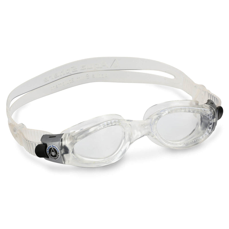 Aqua Sphere Kaiman Small Men's Swimming Goggles Transparent Clear