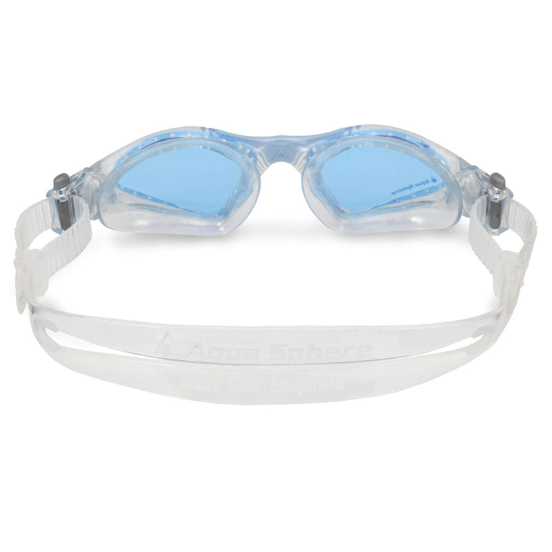 Aqua Sphere Kayenne Small Men's Swimming Goggles Transparent/Light Blue Blue Alternate 3