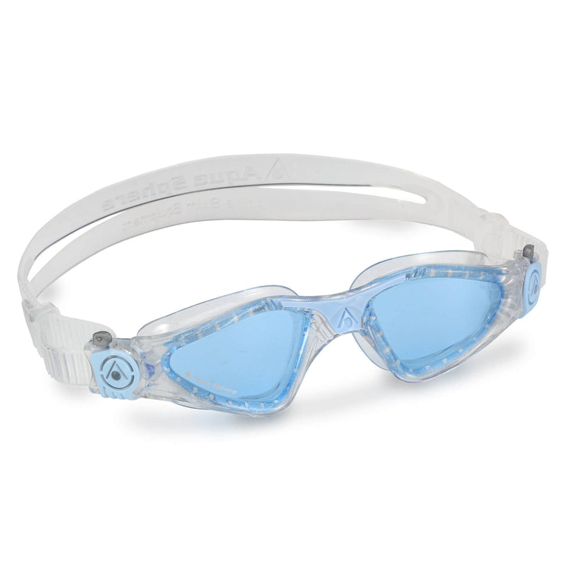 Aqua Sphere Kayenne Small Men's Swimming Goggles Transparent/Light Blue Blue