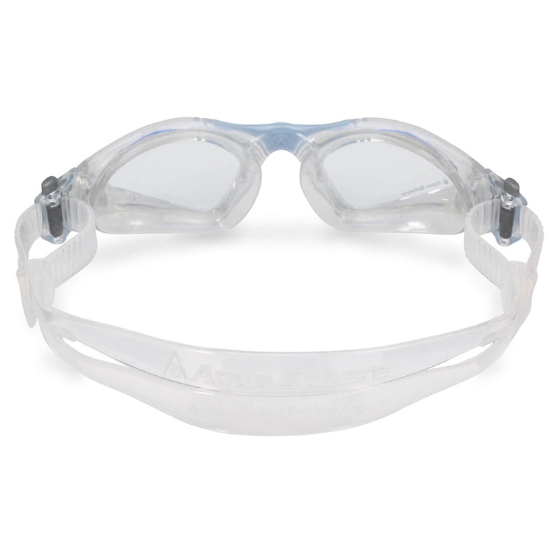 Aqua Sphere Kayenne Small Men's Swimming Goggles Transparent/Light Blue Clear Alternate 3
