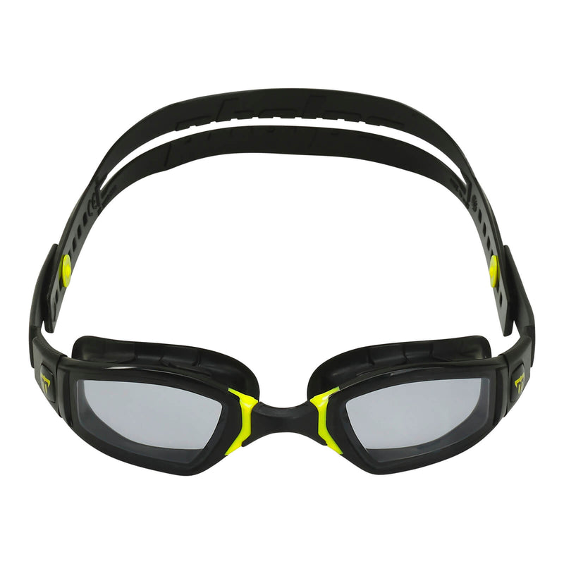 Phelps Ninja Men's Swimming Goggles Black/Yellow Smoke Alternate 1