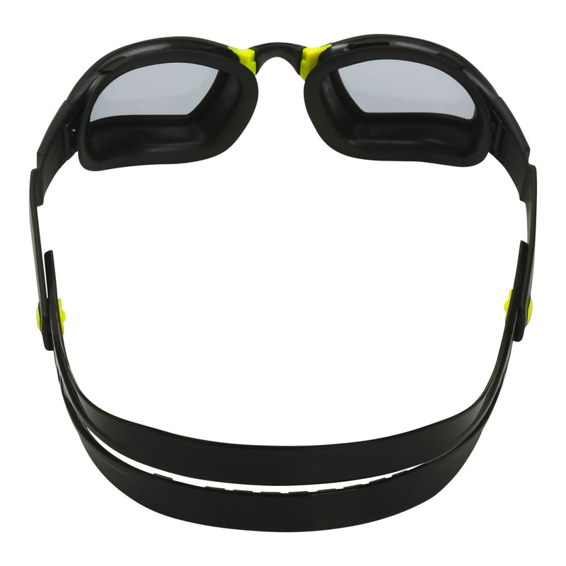 Phelps Ninja Men's Swimming Goggles Black/Yellow Smoke Alternate 4