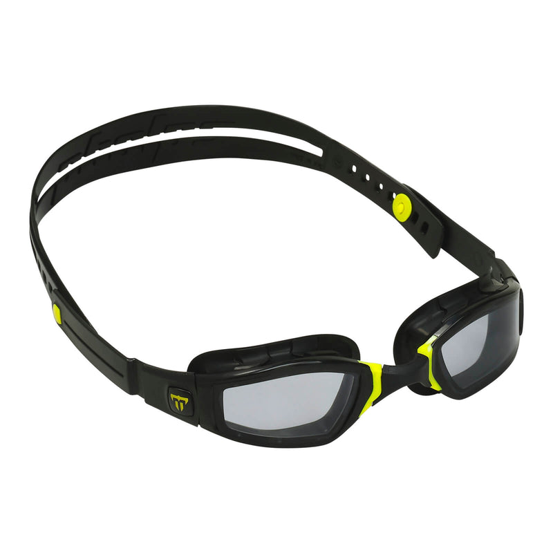 Phelps Ninja Men's Swimming Goggles Black/Yellow Smoke