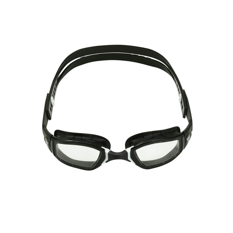 Phelps Ninja Men's Swimming Goggles Black/White Clear Alternate 1