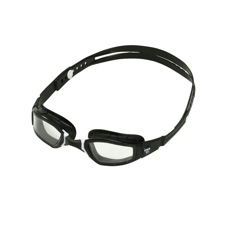 Phelps Ninja Men's Swimming Goggles Black/White Clear Alternate 2