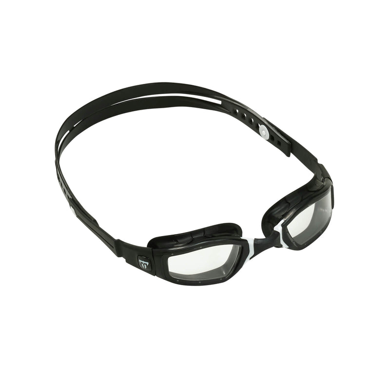 Phelps Ninja Men's Swimming Goggles Black/White Clear