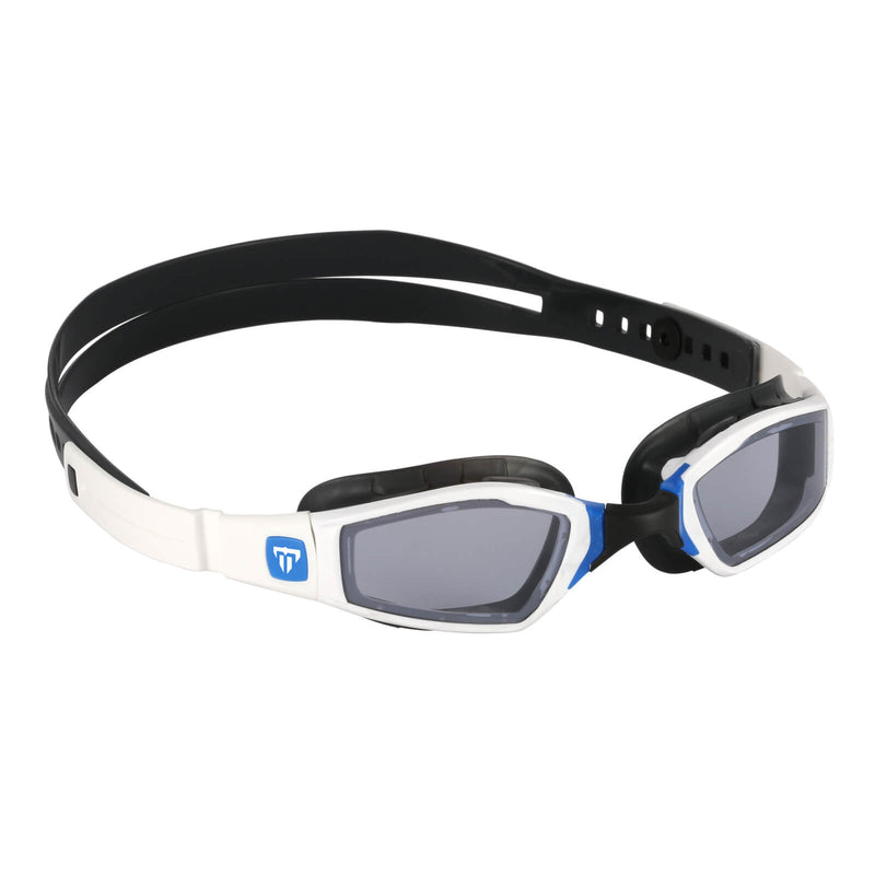 Phelps Ninja Men's Swimming Goggles White/Blue Mirror Blue
