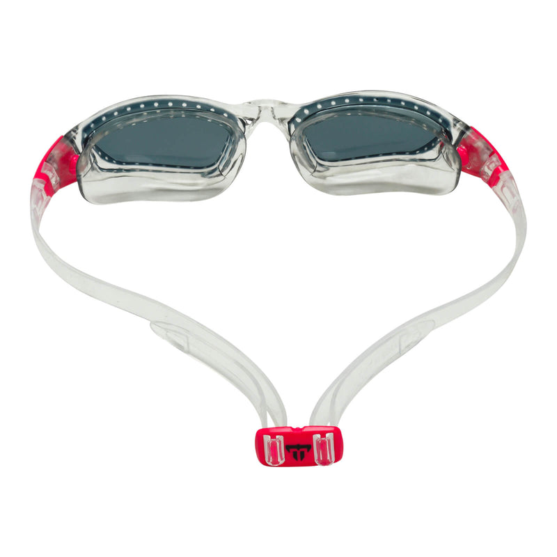 Phelps Tiburon Men's Swimming Goggles Transparent/Pink Smoke Alternate 4