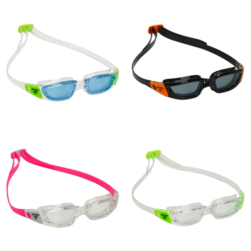 Phelps Tiburon Junior Kid's Swimming Goggles Collection