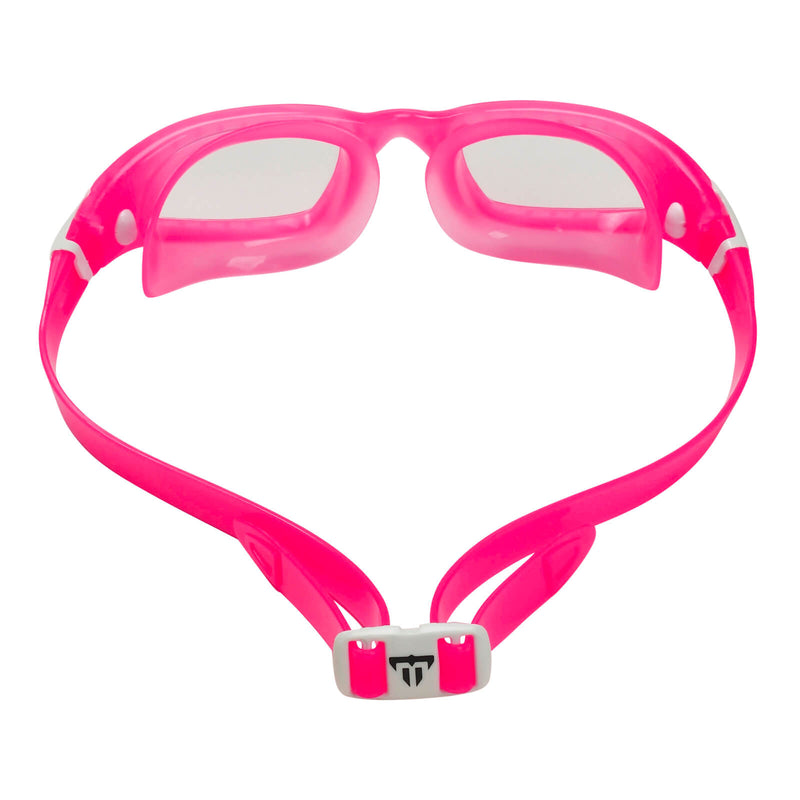 Phelps Tiburon Kid Kid's Swimming Goggles Pink/White Clear Alternate 4