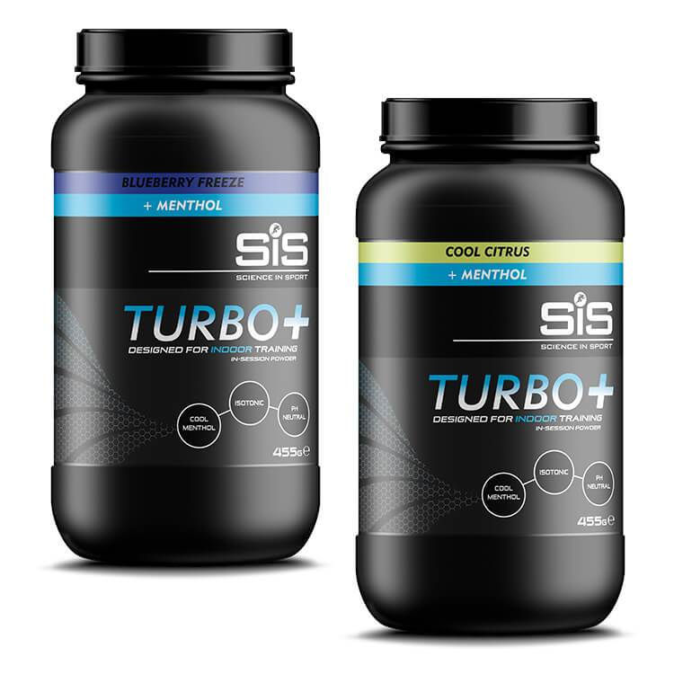 SIS Turbo Plus Indoor Training Energy Drink Powder 455g Tub