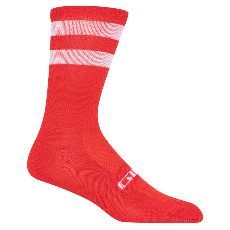 Giro Comp High Rise Men's Cycling Socks Bright Red X Large