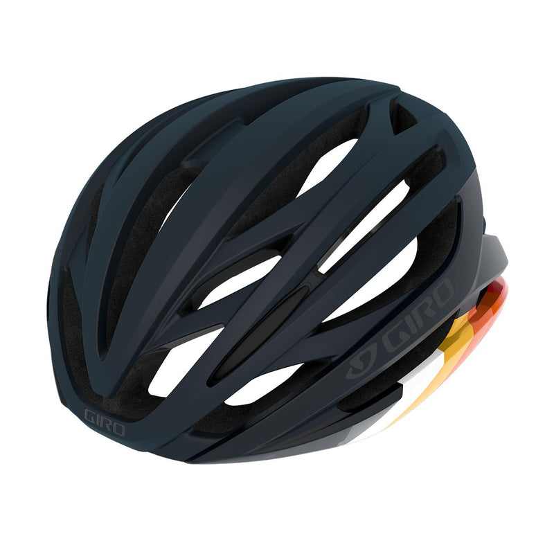Giro Syntax Road Cycling Helmet Matte Midnight Bars Large (59-63cm)