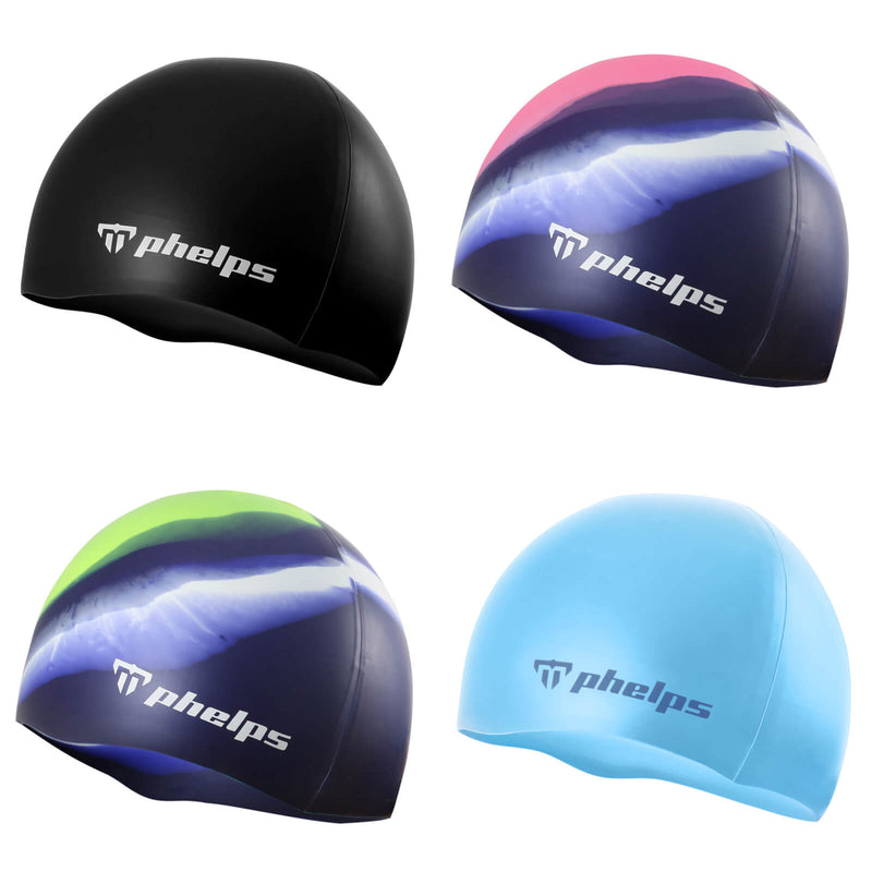 Phelps Classic Junior Men's Swimming Cap Collection