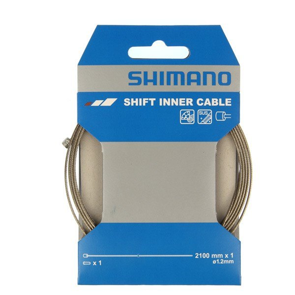 Shimano Stainless Steel 1.2x2100mn Inner Wire Bike Cable
