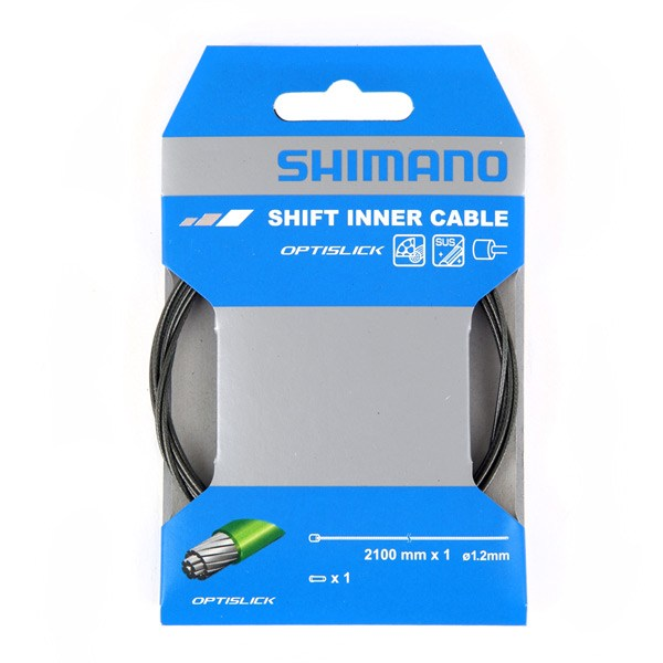 Shimano Optislick Coated Inner Gear Cable 1.2mm 2.1m
