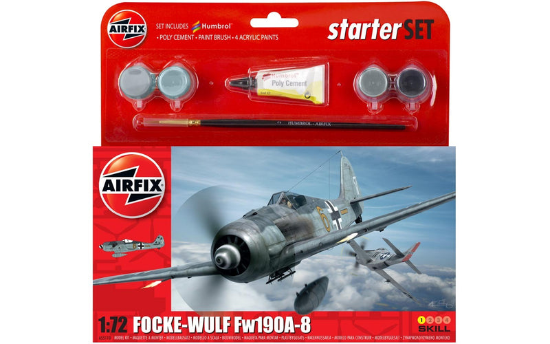 Airfix Focke Wulf 190A-8 Small Starter Set Model Kit