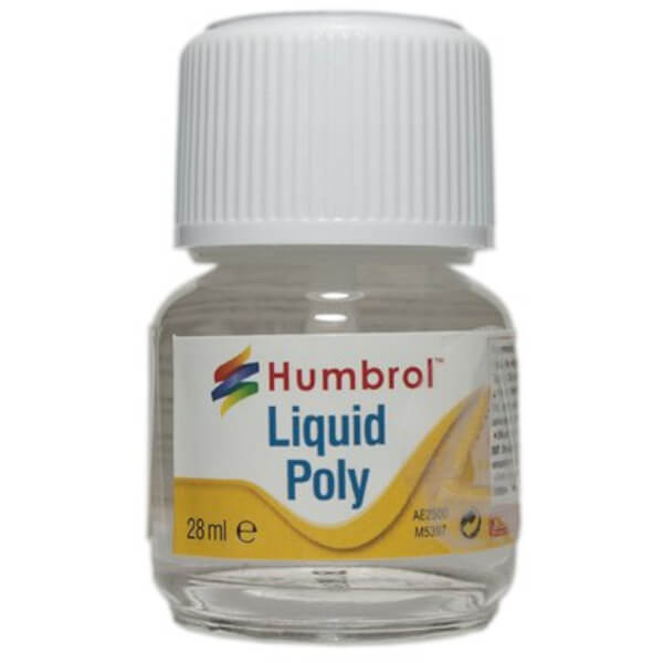 Humbrol Liquid Poly 28ml Model Building Glue