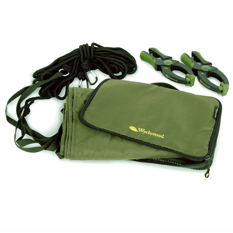 "Wychwood Competition Boat Fishing Drogue With 3"" Clamps & Carry Case"