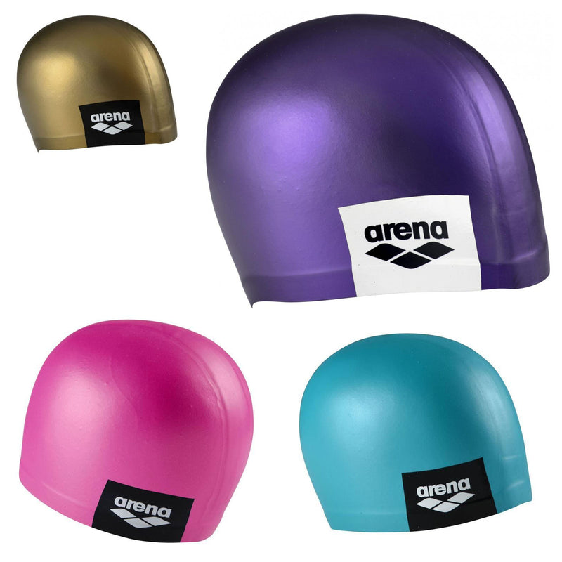 Arena Logo Moulded Swimming Cap