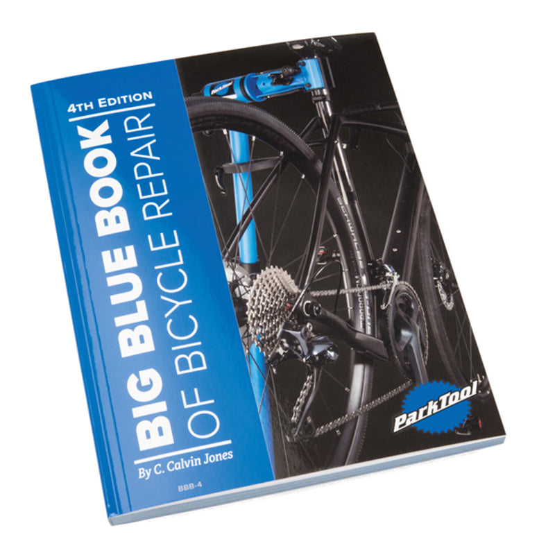 Park Tool BBB-4 Big Blue Book of Bicycle Repair 4th Edition