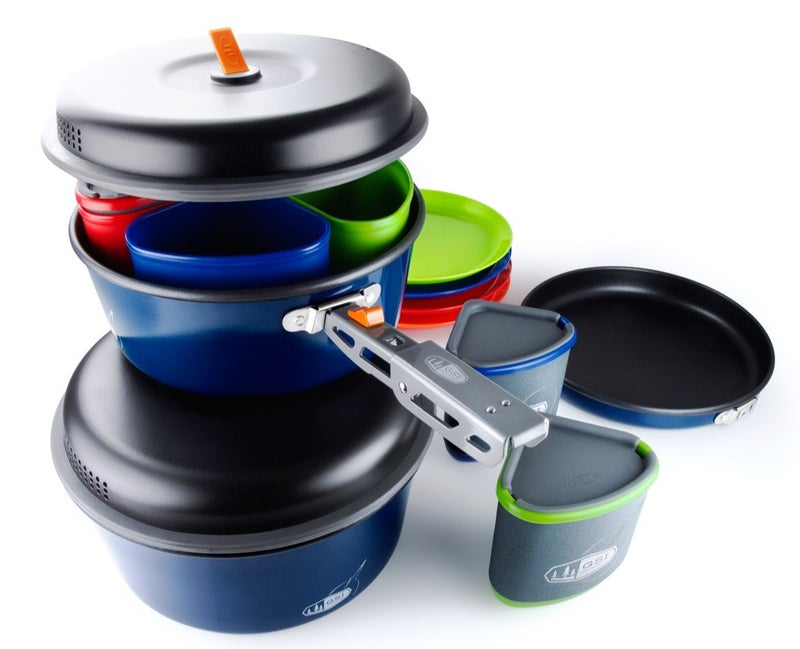 GSI Outdoor Complete Camping Cookware Set