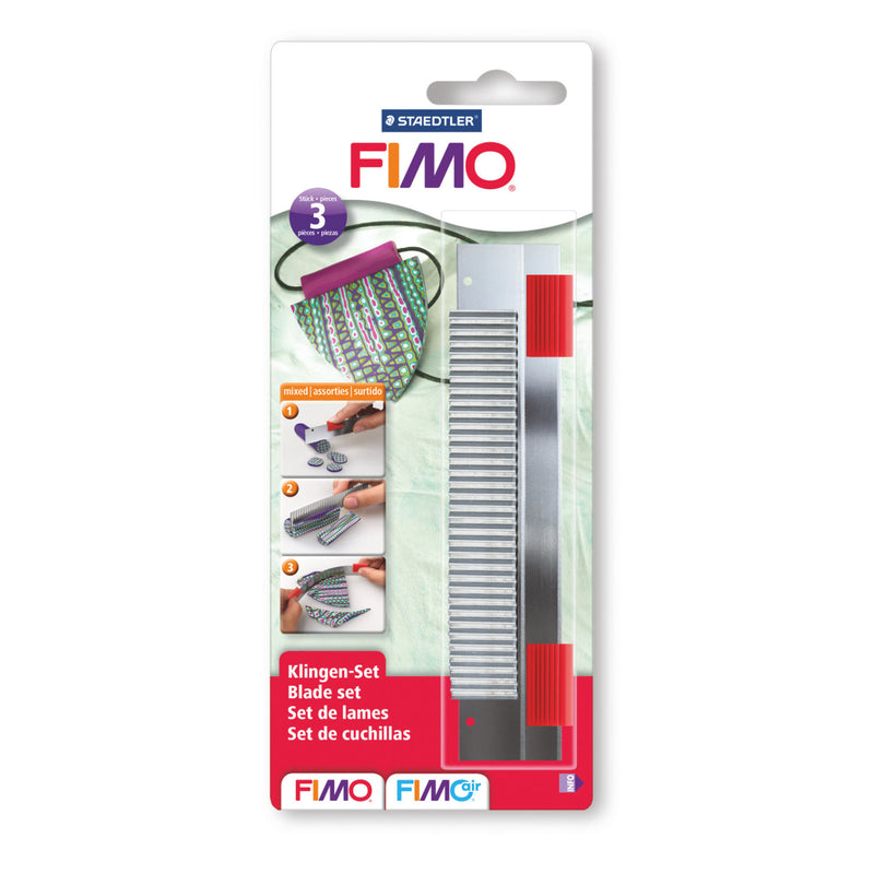 FIMO 3 Piece Cutter Set Modelling Tool