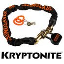 Kryptonite Messenger Chain With Moly Padlock Bike Lock