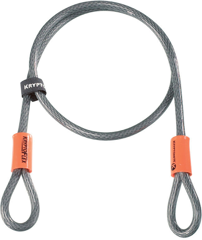 Kryptonite KryptoFlex 410 Looped Bike Cable Lock
