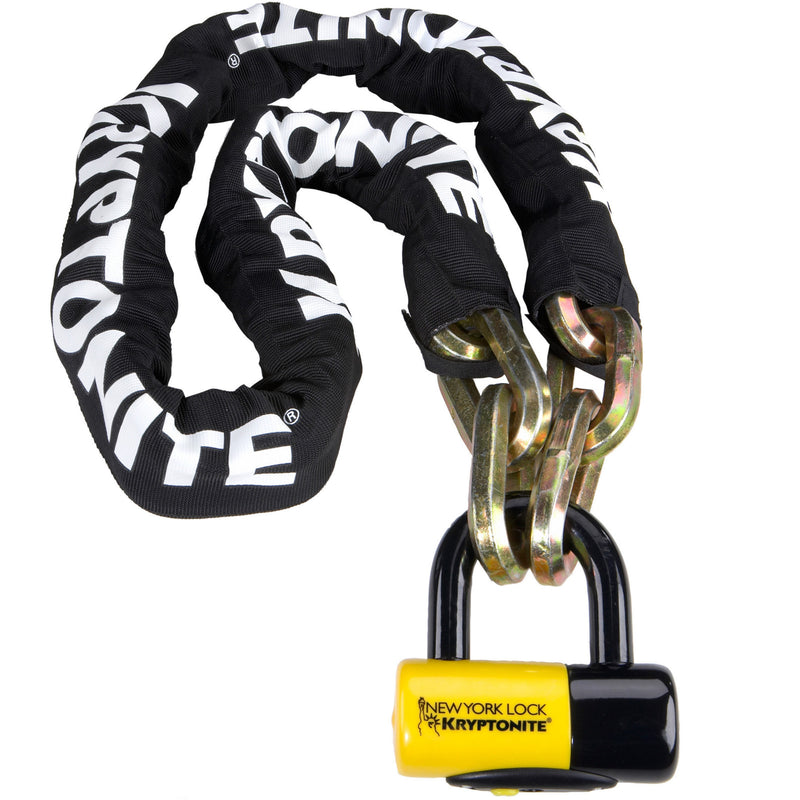 Kryptonite New York Fahgettaboudit 1410 14mm 150cm Bike Chain Lock With NY Shackle