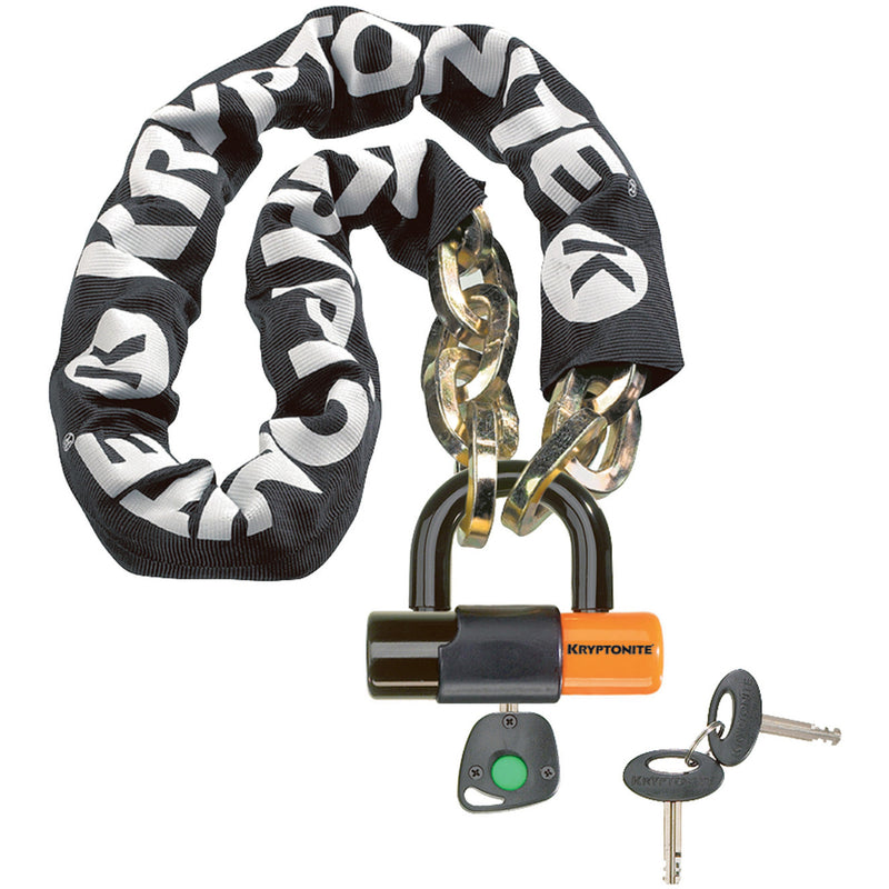 Kryptonite New York 1210 12mm 100cm Bike Chain Lock With EVS4 Shackle