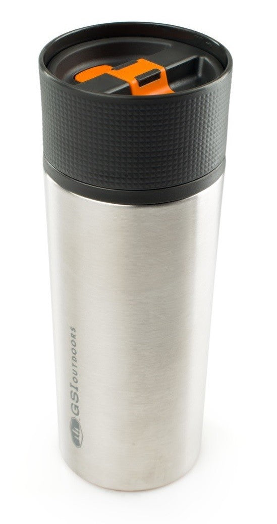 GSI Outdoor Glacier Stainless Steel Commuter Camping Mug