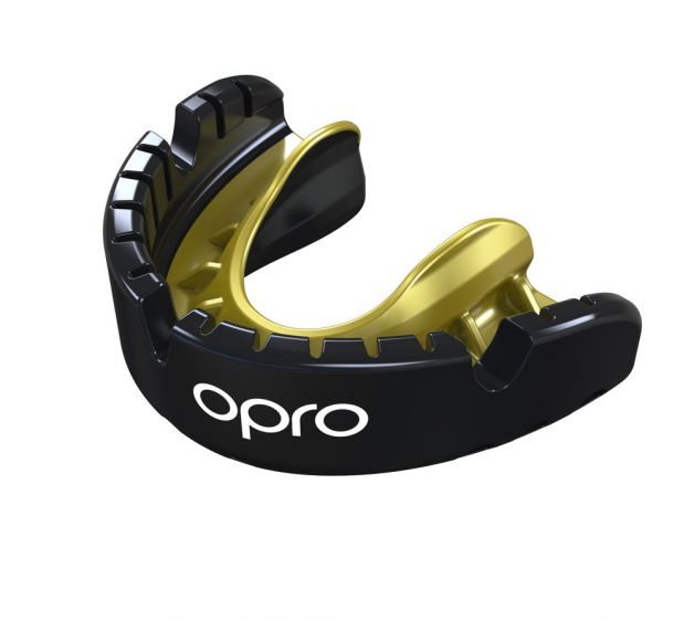 OPRO Self-Fit Gen4 Full Pack Gold Braces Mouthguard