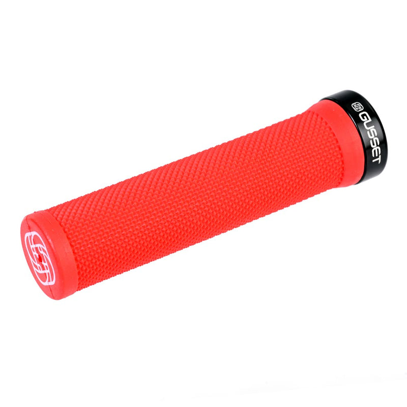 Gusset Single File Lock-On Handlebar Grips for Scooters & Bicycles
