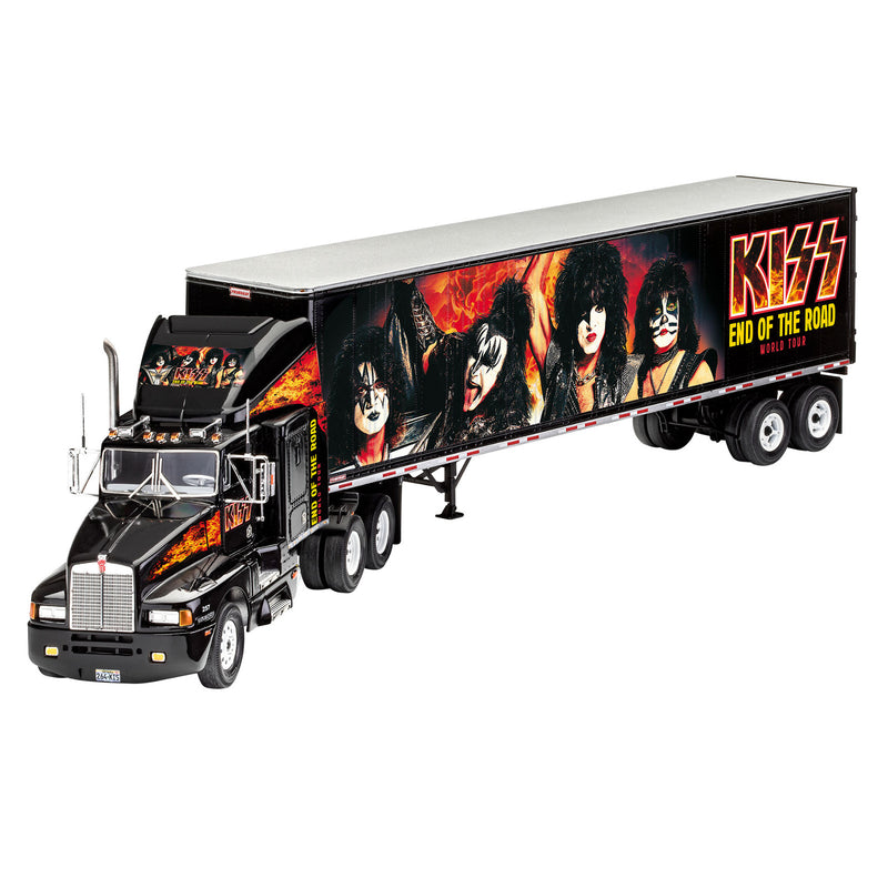 Revell KISS Rock Tour 1:32 Scale Truck Model Kit Gift Set
