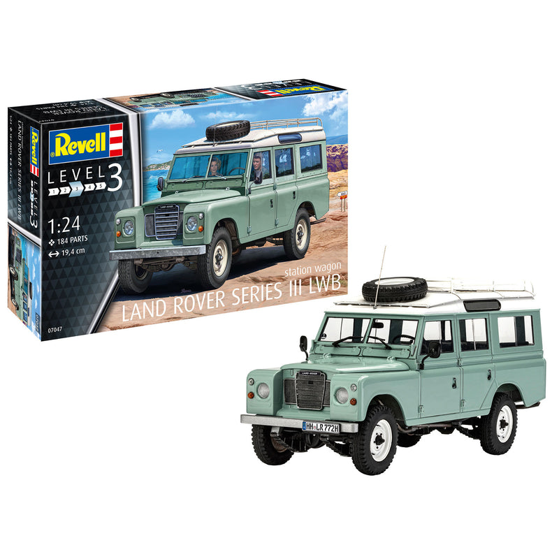 Revell Land Rover Series III 1:24 Scale Car Model Kit