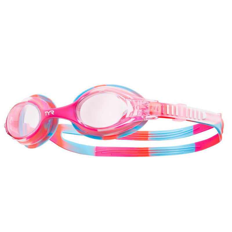 TYR Swimple Tie Dye Kid's Swimming Goggles