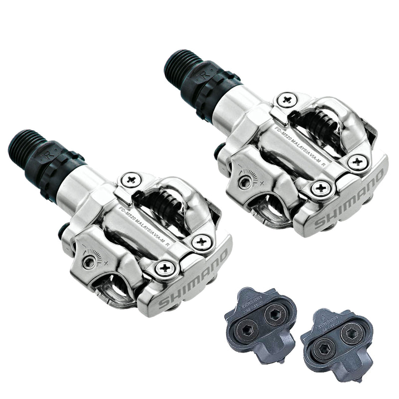 Shimano PD-M520 SPD Clipless Bike Pedals