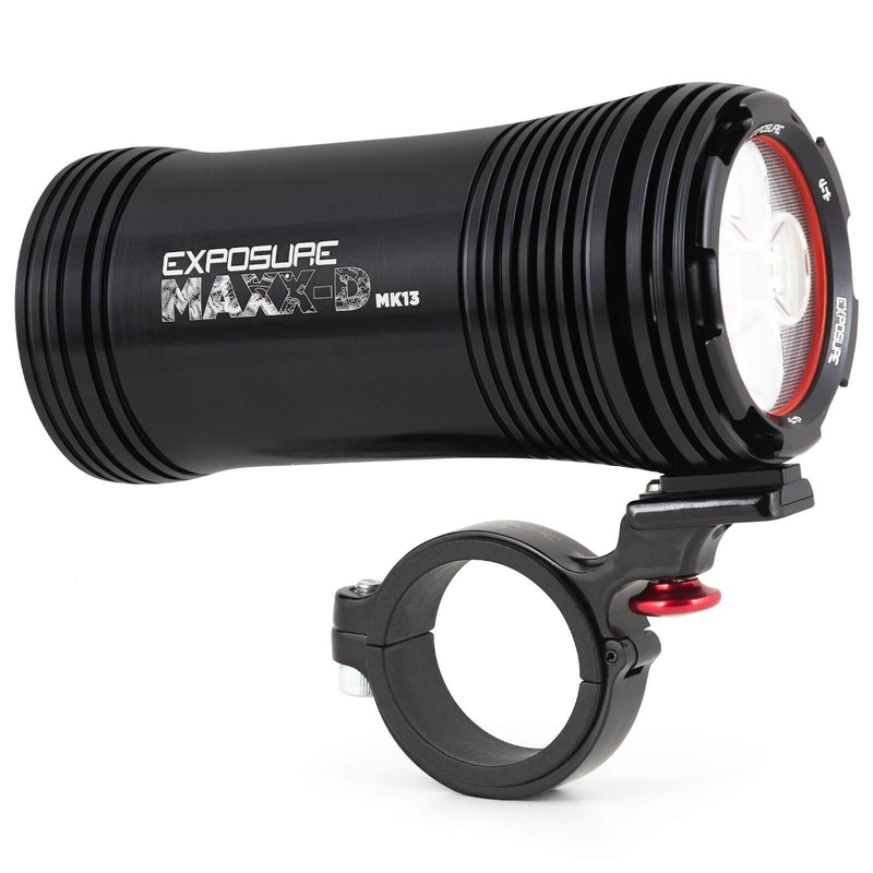 USE Exposure MaXx-D Mk13 With QR Handlebar Mount Front Bike Light