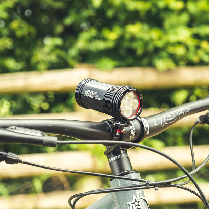 USE Exposure MaXx-D Mk13 With QR Handlebar Mount Front Bike Light Alternate 3