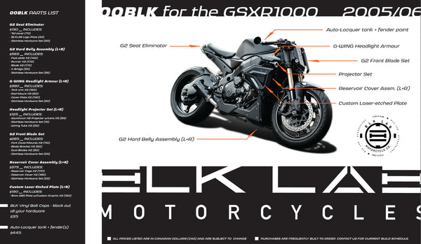 00BLK for the GSXR1000