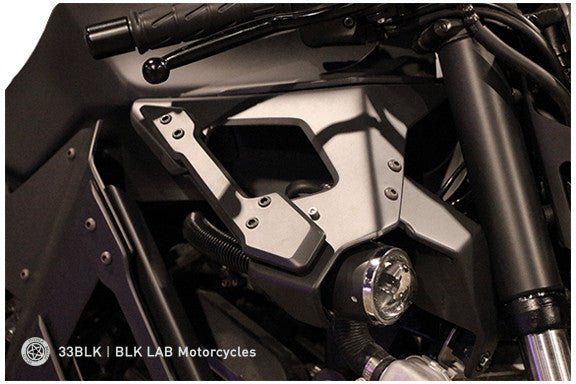33BLK-S for Ninja300 with single seat