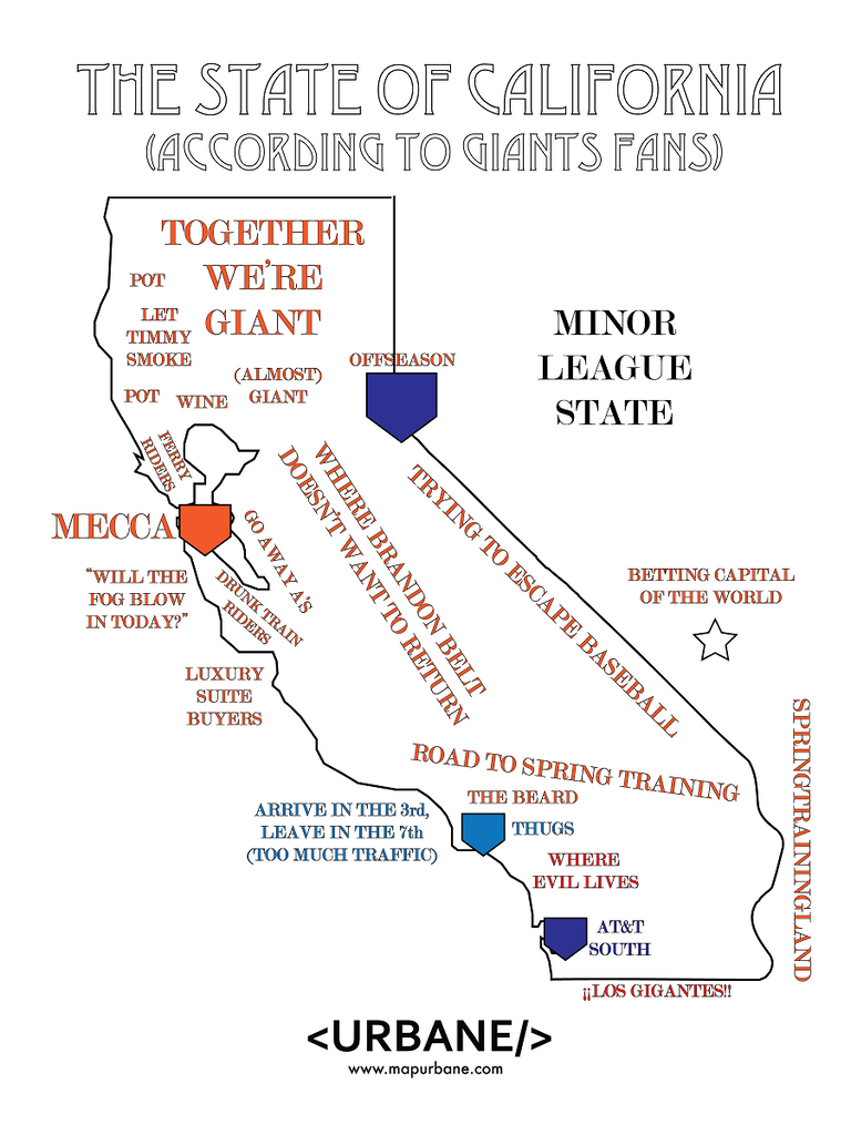 California: According To San Francisco Giants Fans