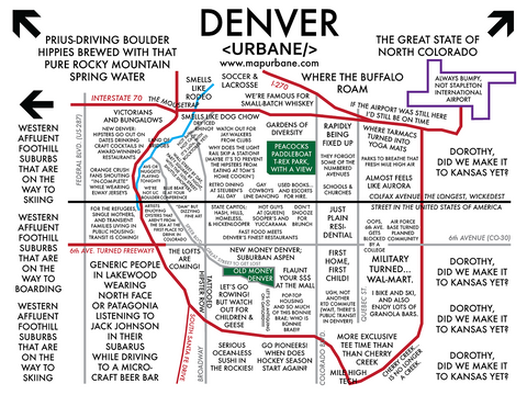 Denver: Neighborhood Culture Map