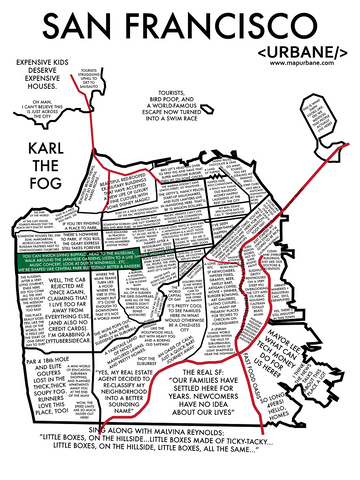 San Francisco: Neighborhood Culture Map