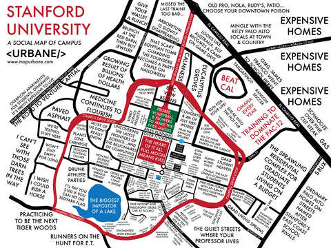 Stanford University: Campus Culture Map